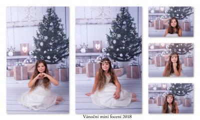 Vánoční mini focení 2018